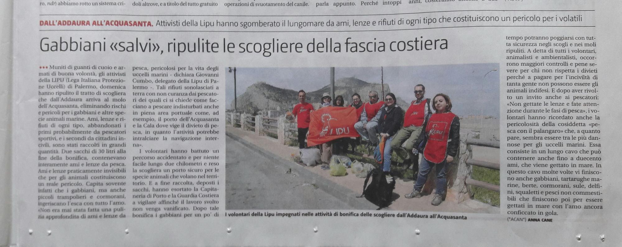 Giornale di Sicilia 28 marzo 2017-