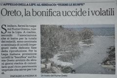 Oreto - La Repubblica 7 aprile 2017-
